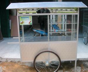 Jasa Bikin Gerobak Makanan di Malang